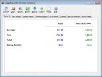 NetWorx 6.1.1 - счетчик трафика