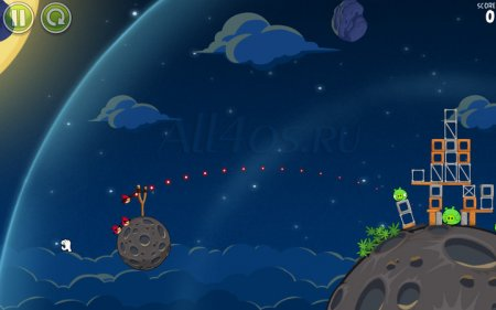 Angry Birds Space для компьютера