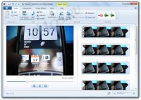 Windows Live Movie Maker � ������ ��������� ��� �������� � �������������� �������