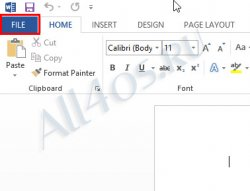 ����������� ������ � Microsoft Office Word 2013