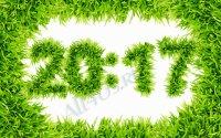 Clock Grass – скринсейвер с часами из травы