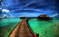 Заставка с видом на океан