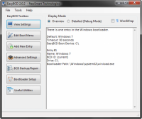 EasyBCD 2.0.2 - универсальный загрузчик ОС