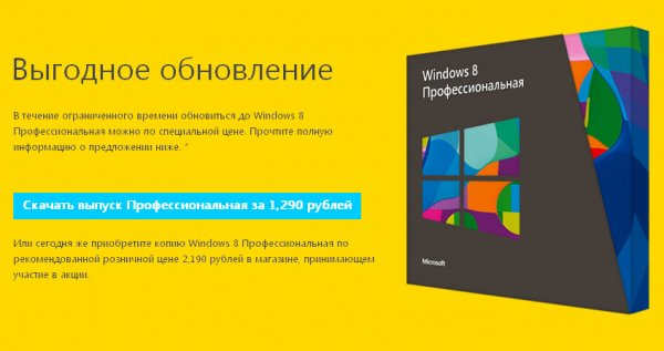 Начало продаж Windows 8