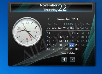 Часы И Календари На Рабочий Стол