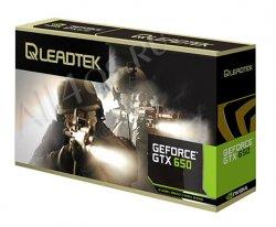Leadtek WinFast GTX 650 - 3D карта на два слота