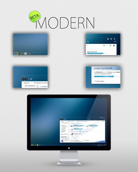 Modern - ����������� ���� ��� Windows 7