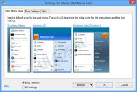 Classic Shell - программа для изменения оформления Windows