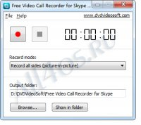 Free Video Call Recorder for Skype - программа для записи видео в Skype