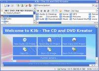 K3b - программа для записи CD, DVD, Blu-ray дисков в Linux