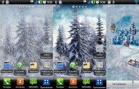 Морозное окошко для Android