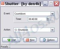 Shutter - программа для управления питанием компьютера