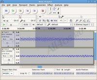 Audacity - аудиоредактор для Linux