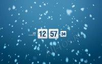 Restful Winter Screensaver - заставка со снегопадом