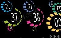 Lumia Clock - красивые часы для Windows Phone