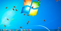 Cockroach on Desktop - тараканы на рабочий стол