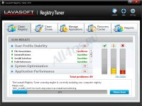Lavasoft Registry Tuner - программа для очистки реестра Windows
