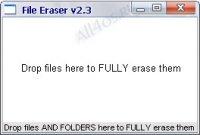 FileEraser - программа для удаления файлов навсегда