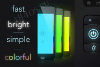 myLite Flashlight - фонарик для iPhone, iPad, iPod