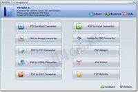 PDFZilla - программа для конвертирования PDF в DOC и др. форматы