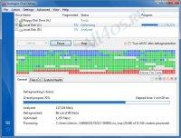 Auslogics Disk Defrag - программа для дефрагментации жёсткого диска