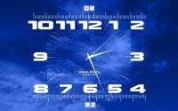Заставка часы с Первого канала