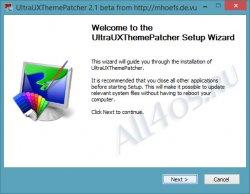 Установщик тем оформления для Windows 8.1 готов