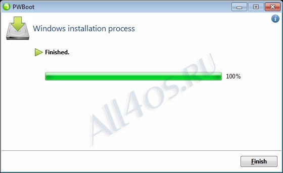 Установка Windows 8 на флешку