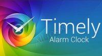 Timely - красивые часы-будильник для Android