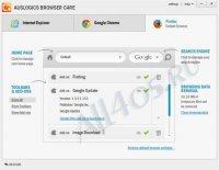 Auslogics Browser Care - программа для настройки браузеров