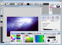 Pixia - бесплатный и многофункциональный графически редактор