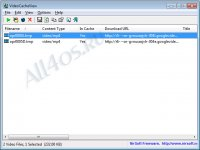 VideoCacheView - программа для сохранения видео из кэша браузеров