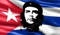 Заставка - Че Гевара на флаге Кубы