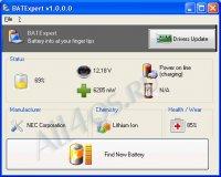 BATExpert – программа для слежения за батареей ноутбука