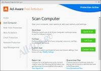 Ad-Aware Free - программа для удаления шпионских модулей