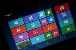 Microsoft запатентовала стартовый экран Windows 8