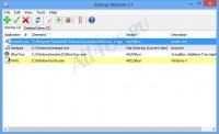 Startup Watcher - бесплатный менеджер автозагрузки для Windows