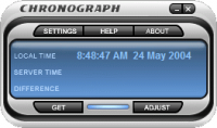 Chronograph - программа для установки точного времени компьютера