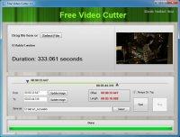 Free Video Cutter – утилита для обрезки видео и аудио файлов