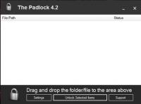 The Padlock – программа для защиты файлов и папок на компьютере