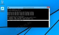 Командная строка в Windows 10 с функцией копирования и вставки
