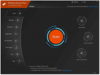 Privacy Eraser - программа для очистки системы и реестра от мусорных файлов
