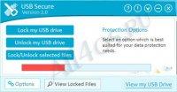 USB Secure - программа для установки пароля на флешку