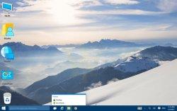 Свежие скриншоты сборки Windows 10 Pro TP Build 10022