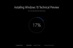 Новый инсталлятор Windows 10 Technical Preview на видео
