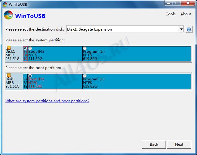 Программу запись windows на флешку