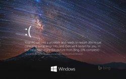Красивый экран смерти (BSoD) для Windows 10
