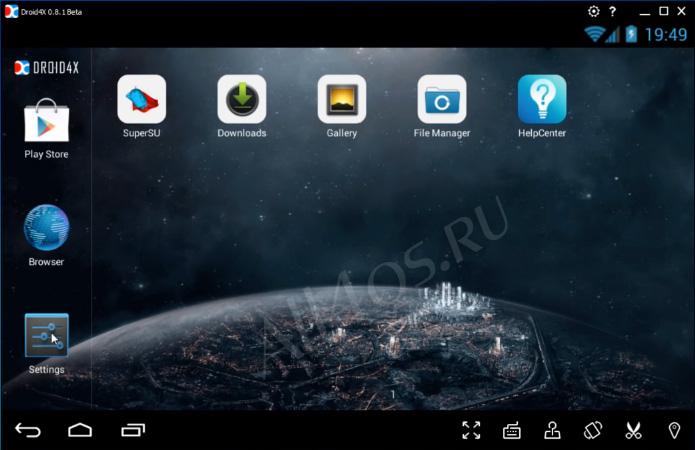 Скачать симулятор андроида на пк windows 7