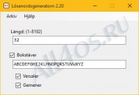 AS-Password Generator � ���������� ��������� �������