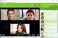 Conferendo – бесплатная программа для создания видео-чата